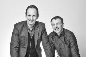 Benoit Duranson et Laurent Gesse d'axial design, partenaire de l'Odyssée des entrepreneurs 2021