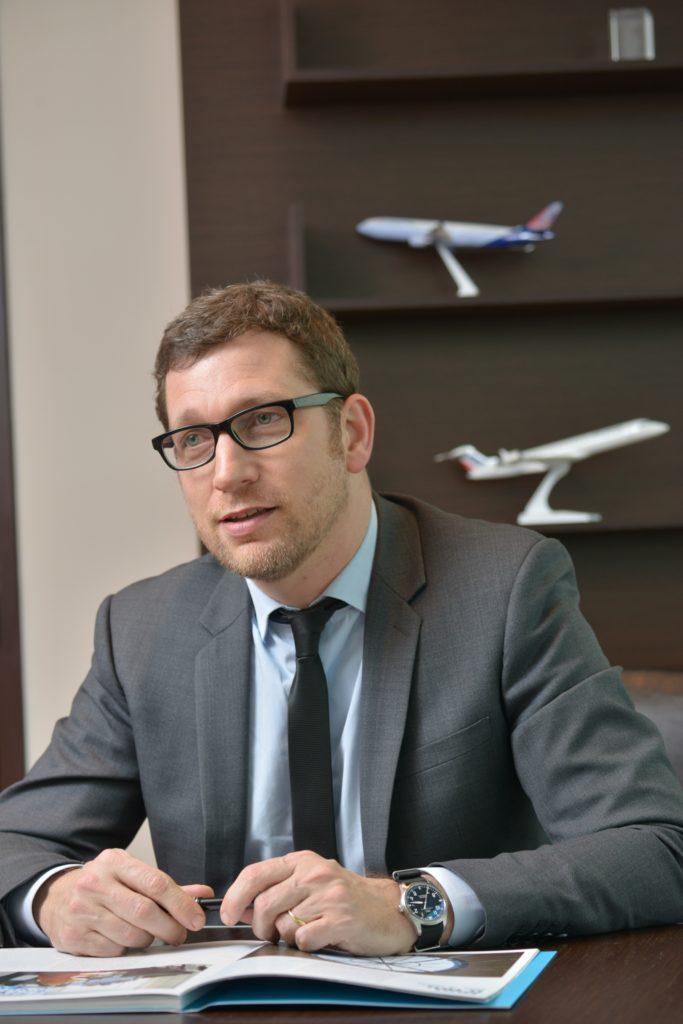Tanguy Bertolus, Président du Directoire de Lyon Aéroport, soutient l'Odyssée des entrepreneurs 2020